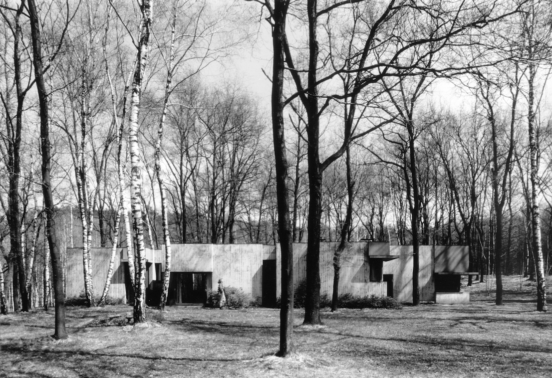 House in the Wood, Osmate, Varese, 1969.
