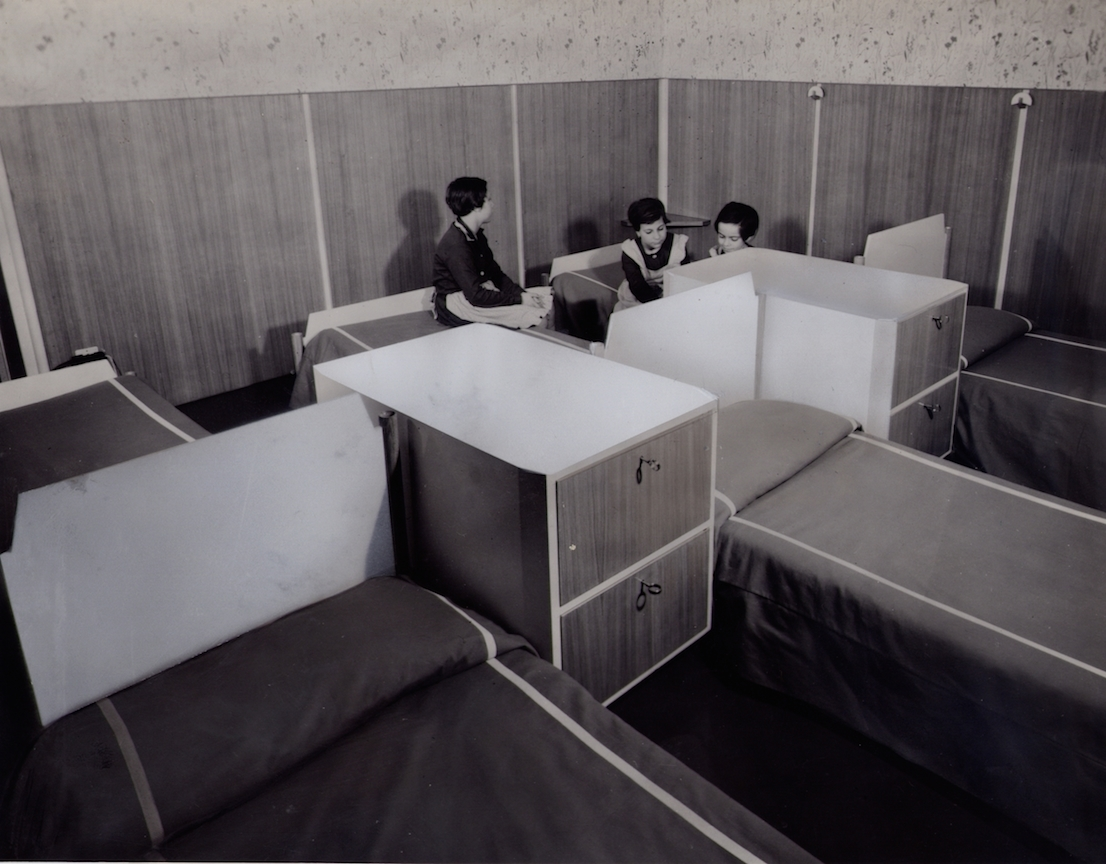 Istituto religioso le Carline, 1952. / Le Carline religious institute, 1952.