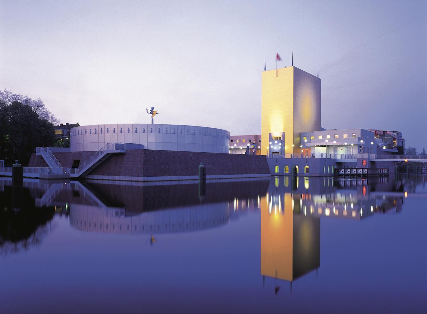 Groninger Museum, design by Alessandro and Francesco Mendini, Groningen, Holland, 1994.