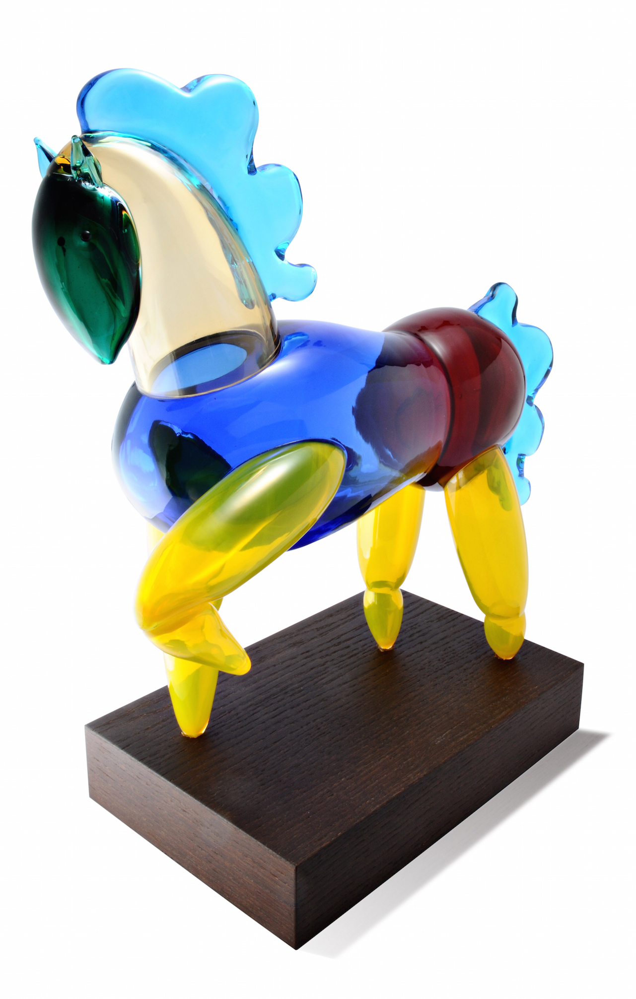 Cavallino, design by Alessandro Mendini per/for Venini, 2010.