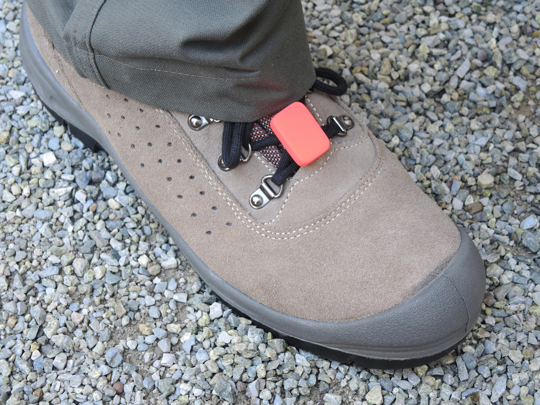 Shield and Share: connected protections for workers, design by Odo Fioravanti for TIM (TIM4Expo), 2015. Rugged bluetooth circuit to be placed on safety shoes capable of monitoring the work activity of the worker and share it on social platforms like Runtastic.