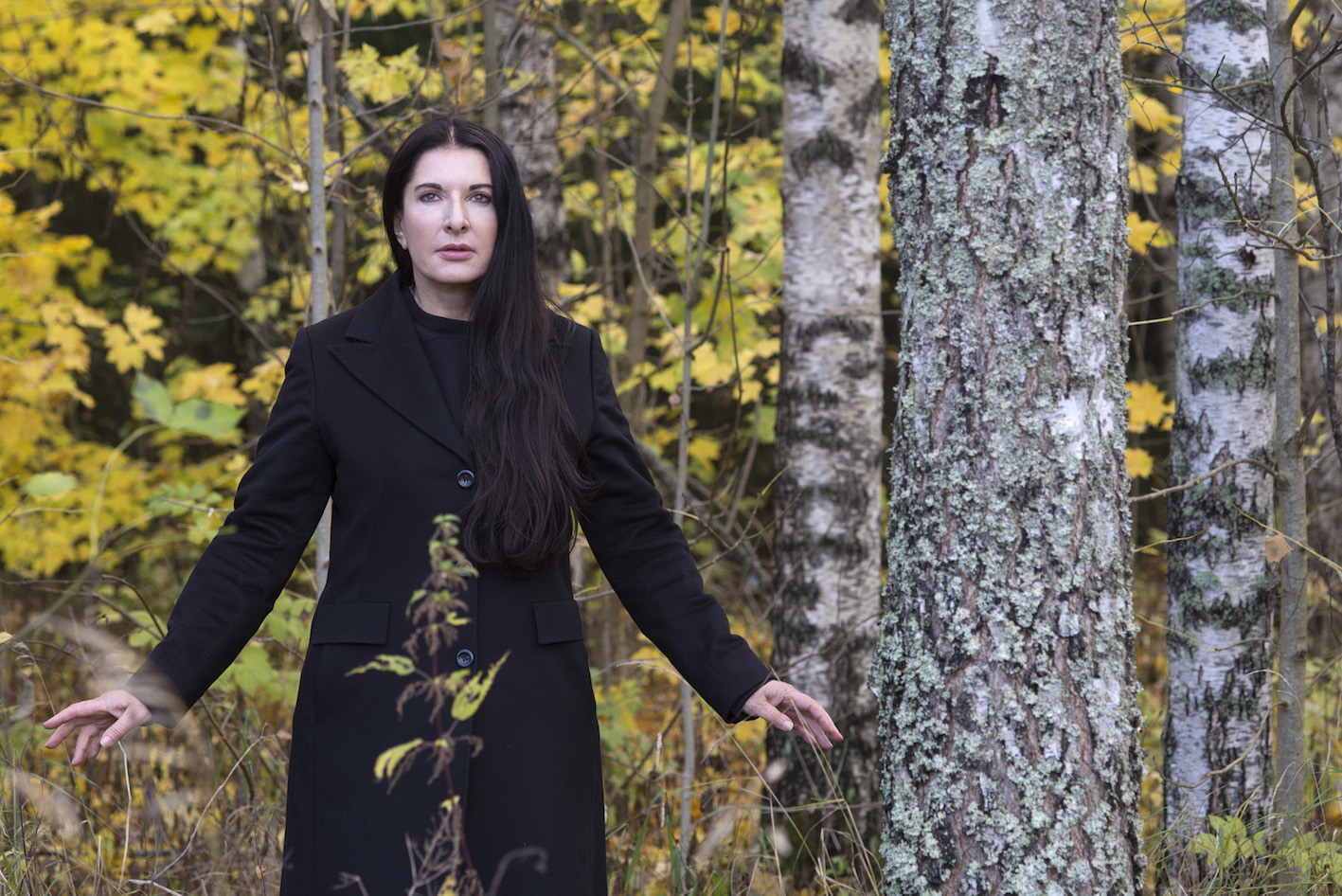 Marina Abramović, The Rest Is Silence, 2013. Photo: Knut Bry and Ekebergeparken Oslo.