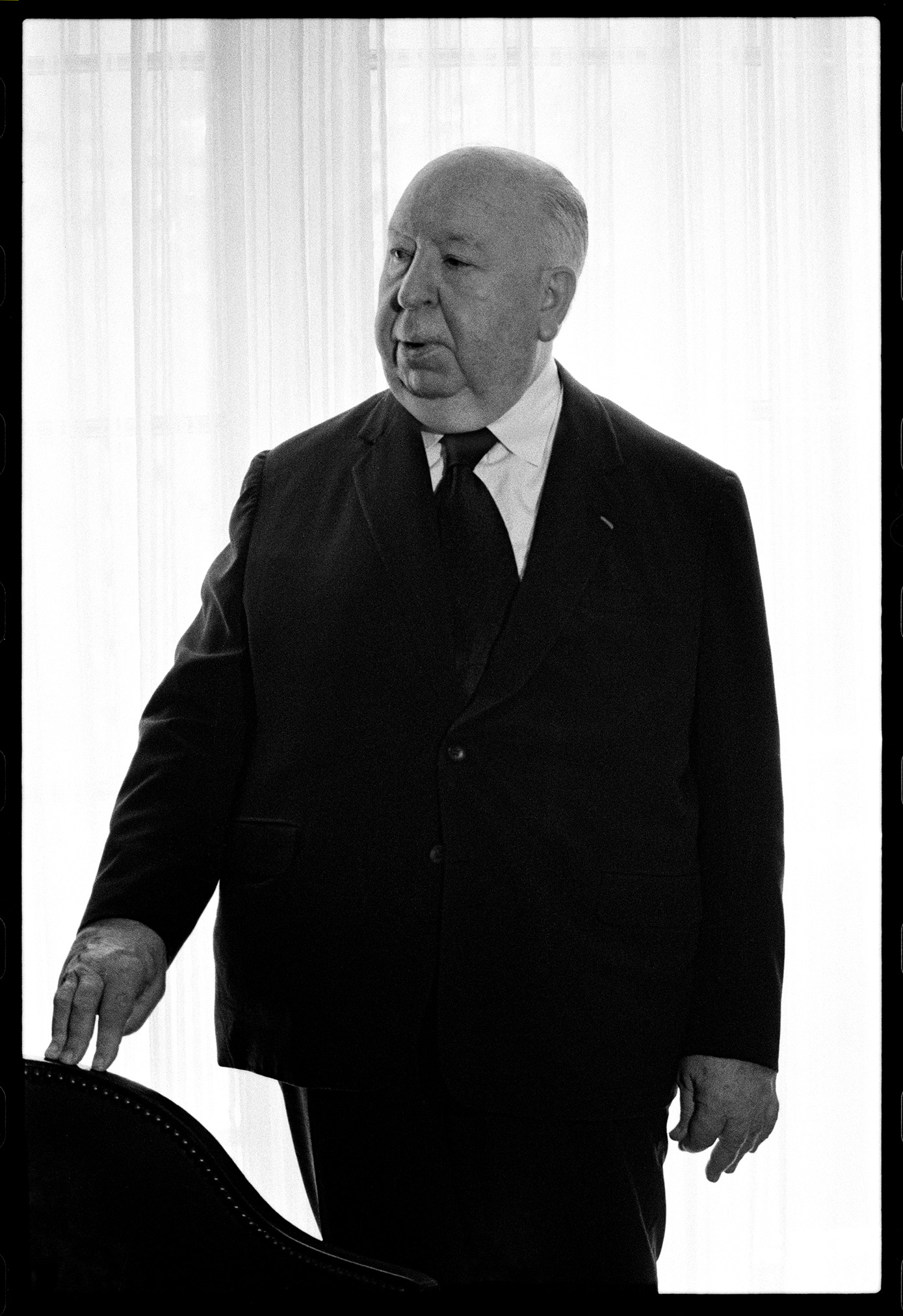 Alfred Hitchcock. Photo: Timothy Greenfield Sanders.