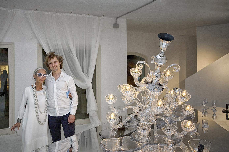 Rossana Orlandi and Maarten Baas, Porto Cervo, 2009. Photo: Tatiana Uzlova.