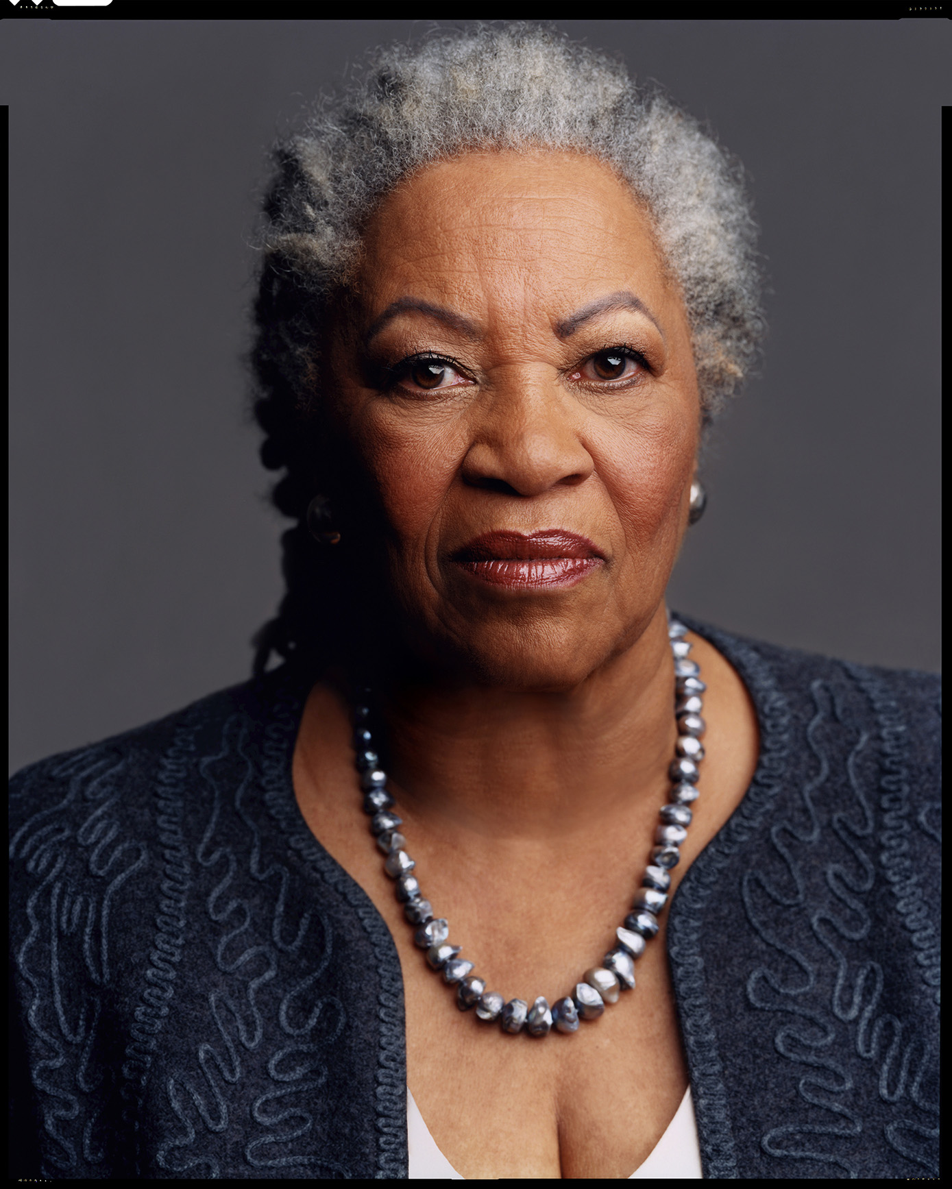 Toni Morrison. Photo: Timothy Greenfield Sanders.